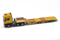 IMC Premium Series Scania S Highline 6x2 with Nooteboom OSDS44-003 (Caterpillar yellow)
